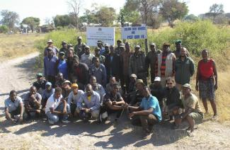 Luinana in Angola: Game counts in neighbouring KAZA countries are assisted by Namibia