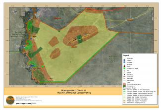 A zonation map for Mashi Conservancy