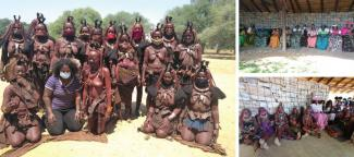 Women from conservancies